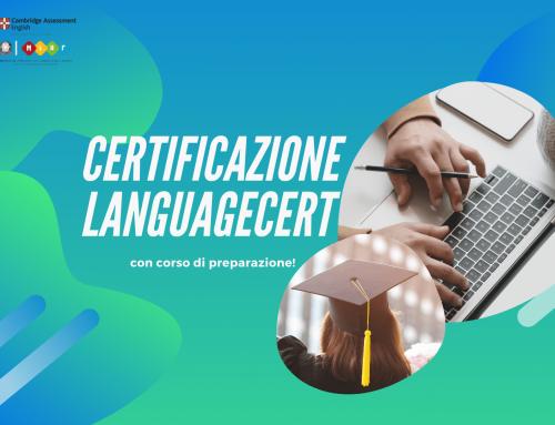 LanguageCert, la Certificazione che fa per te!